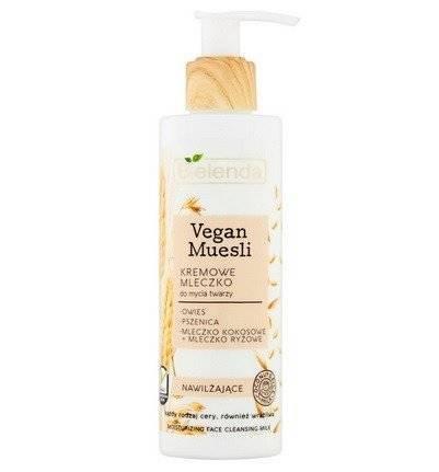 Bielenda Vegan Muesli Mleczko nawilżające do mycia twarzy 175g