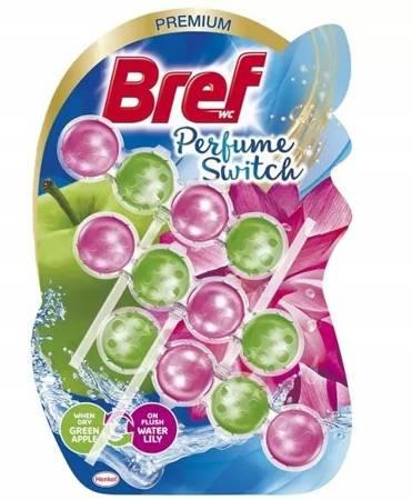 Bref Perfume switch Zawieszka Zielone jabłko 3x50g