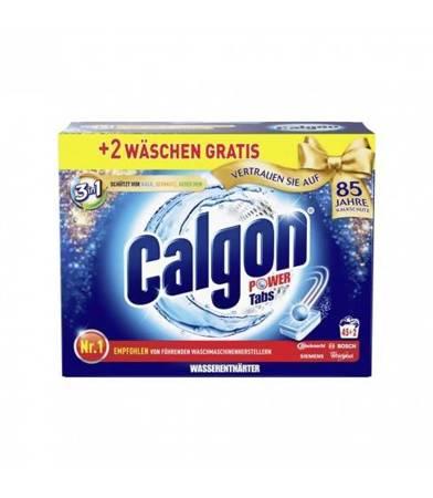 Calgon Power tabletki do pralki 3w1 45+2 szt.