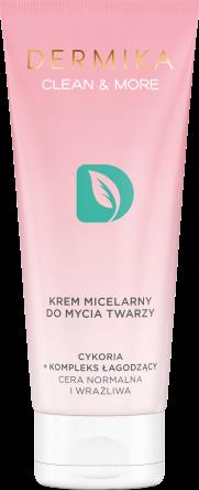 Dermika Krem micelarny do mycia twarzy cykoria
