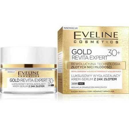 Eveline Gold Revita Expert 30+ Krem wygładzający dzień/noc 50ml