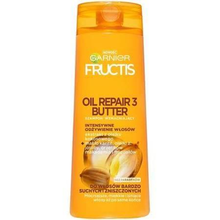 GARNIER FRUCTIS Oil Repair Szampon wzmacniający do włosów zniszczonych 400ml